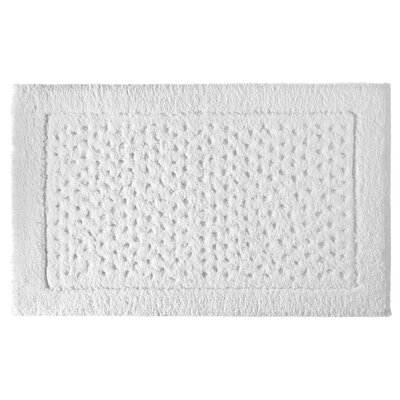 Sublime Bath Rug Color: White, Size: 20 W x 32 L