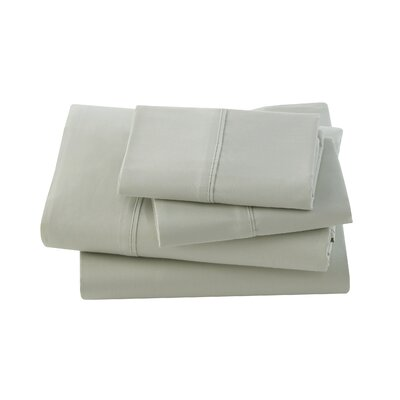 Letto Studio Bedding 300 Thread Count 100% Cotton Sheet Set Size: Queen, Color: Sage