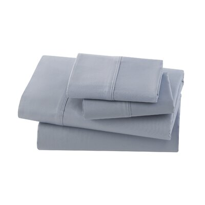 Letto Basics Pillow Case Size: Queen, Color: Celestial Blue