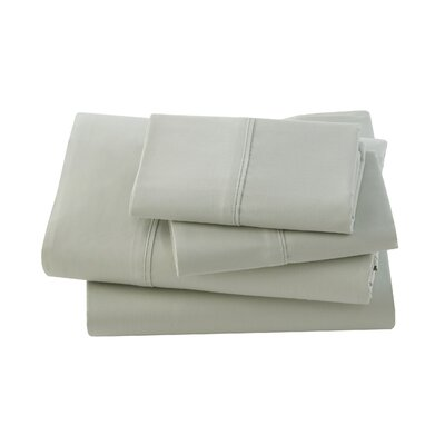 Letto Basics Pillow Case Size: Queen, Color: Sage