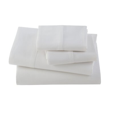 Letto Basics Pillow Case Size: Standard, Color: White