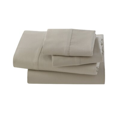 Letto Basics Pillow Case Size: Standard, Color: Sandstone