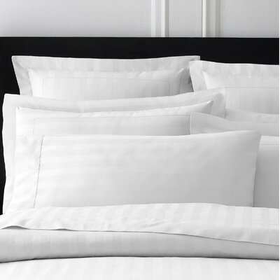 Sienna Pillow Case Size: King, Color: White