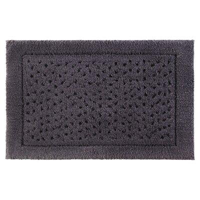 Sublime Bath Rug Size: 24 W x 40 L, Color: Dark Anthracite