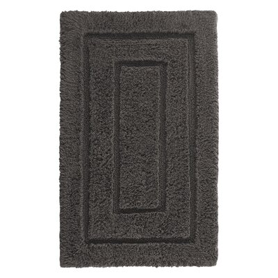 Kassadesign Bath Rugs Size: 24 H x 40 W, Color: Charcoal