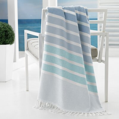 Bodrum Beach Towel Color: Aqua
