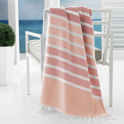 Bodrum Beach Towel Color: Coral