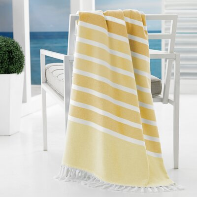 Bodrum Beach Towel Color: Yellow