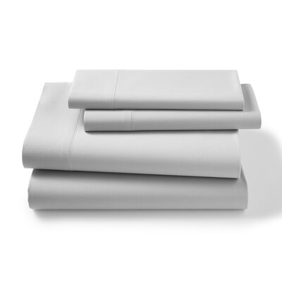 Lisse 300 Thread Count Sheet Shet Size: Twin, Color: Silver