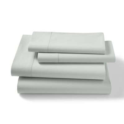 Lisse 300 Thread Count Sheet Shet Size: Queen, Color: Mint