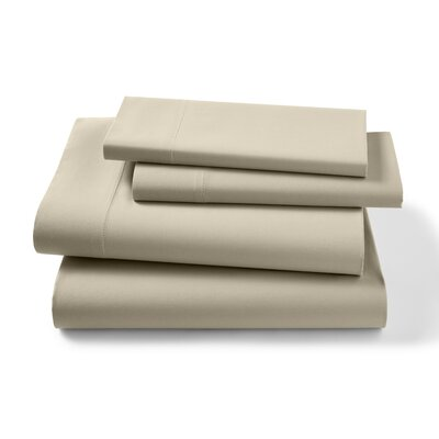 Lisse 300 Thread Count Sheet Shet Color: Linen, Size: Twin