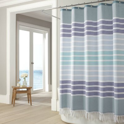 Bodrum Cotton Shower Curtain