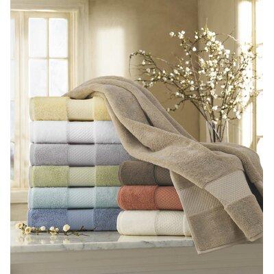 Elegance 6 Piece Towel Set Color: Seafoam
