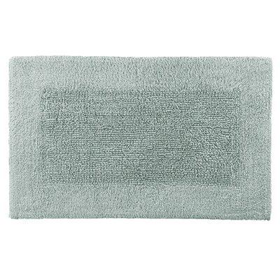 Cotton/Rayon Bath Mat Size: 21 x 34, Color: Rain