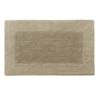 Cotton/Rayon Bath Mat Size: 21 x 34, Color: Sandstone