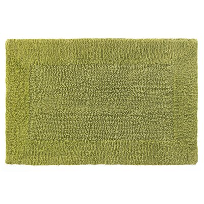 Cotton/Rayon Bath Mat Size: 21 x 34, Color: Aloe