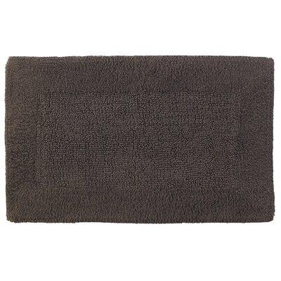 Cotton/Rayon Bath Mat Size: 21 x 34, Color: Coffee
