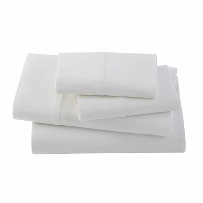 Rayon from Bamboo 300 Thread Count Sheet Set Size: Twin, Color: White