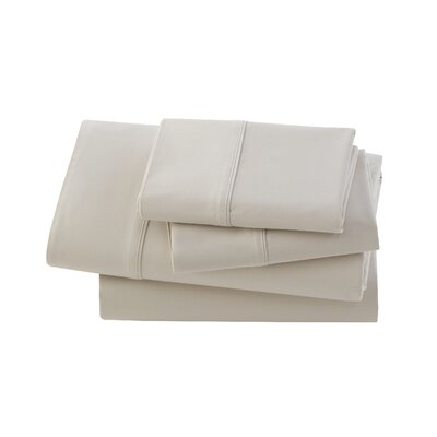 Rayon from Bamboo 300 Thread Count Sheet Set Size: Queen, Color: Bisque