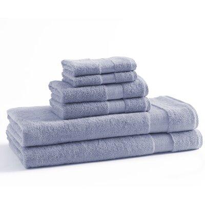 6 Piece Towel Set Color: Cloud