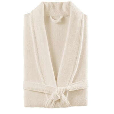 DuCap Bath Robe Color: Ivory Tusk