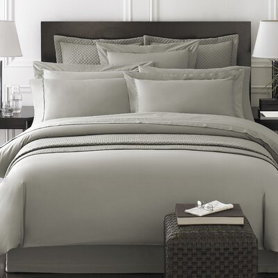 Rayon from Bamboo Duvet Cover Size: Queen, Color: Grey
