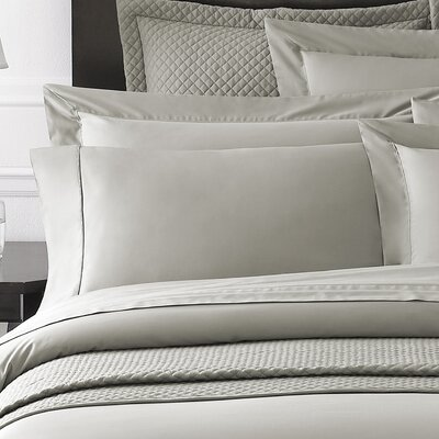 Rayon from Bamboo Sham Size: Standard, Color: White