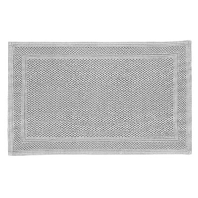 Athens Bath Rug Color: Aluminum