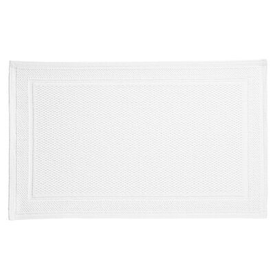 Athens Bath Rug Color: White