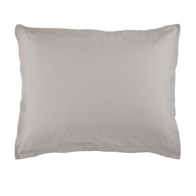 Lorimer Sham Color: Dolphin Gray, Size: Queen