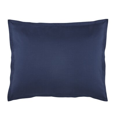 Lorimer Sham Color: Navy, Size: King