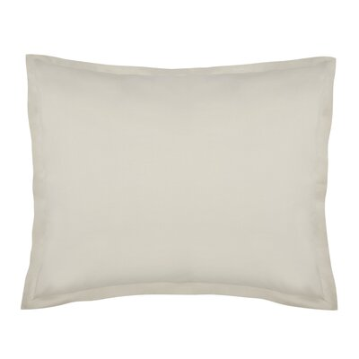Lorimer Sham Color: Oatmeal, Size: King