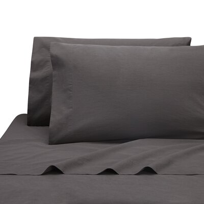 Lorimer Pillow Case Color: Coal, Size: King