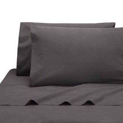 Lorimer Pillow Case Color: Coal, Size: Queen