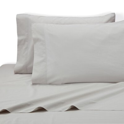 Lorimer Pillow Case Color: Dolphin Gray, Size: Standard/Twin