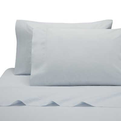 Lorimer Pillow Case Color: Ice Blue, Size: King