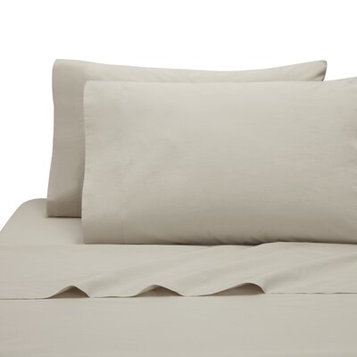 Lorimer Pillow Case Color: Oatmeal, Size: King