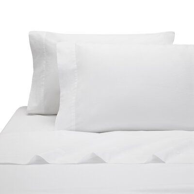 Lorimer Pillow Case Color: White, Size: King