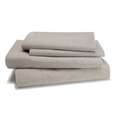 Lorimer 300 Thread Count Sheet Set Color: Dolphin Gray, Size: Twin