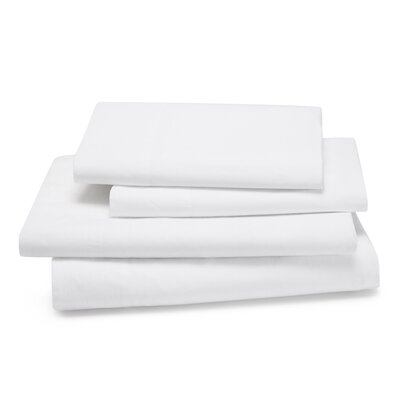 Lorimer 300 Thread Count Sheet Set Color: White, Size: King