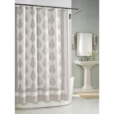Buy Low Price Kassatex Roma Shower Curtain In Taupe Shower Curtain Mall