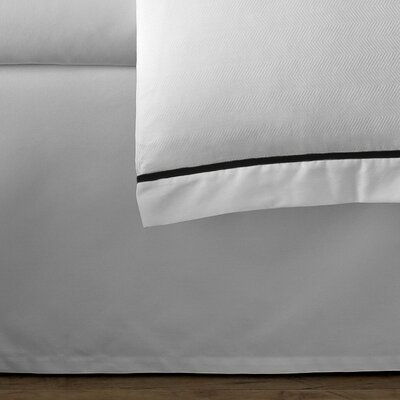 Verona 300 Thread Count Cotton Bed Skirt Size: King