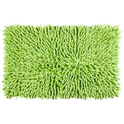 Bambini Basics Bath Rug Color: Green