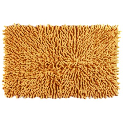 Bambini Basics Bath Rug Color: Orange