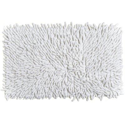 Bambini Basics Bath Rug Color: White