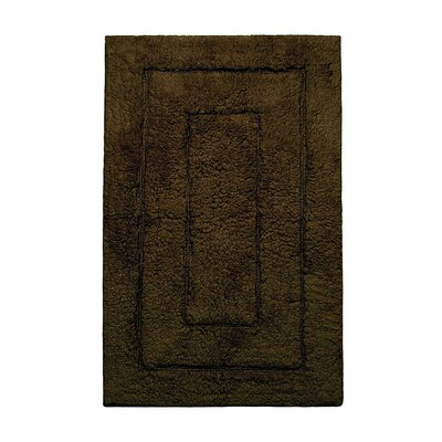Kassadesign Bath Rugs Size: 24 H x 40 W, Color: Chocolate