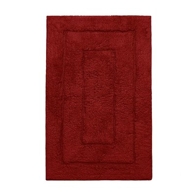 Kassadesign Bath Rugs Size: 20 H x 32 W, Color: Garnet Red