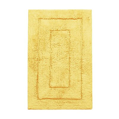 Kassadesign Bath Rugs Size: 20 H x 32 W, Color: Gold