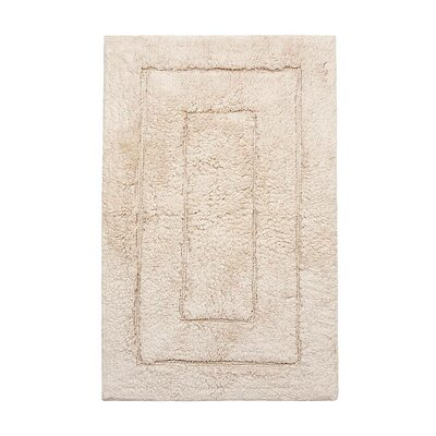 Kassadesign Bath Rugs Size: 20 H x 32 W, Color: Ivory