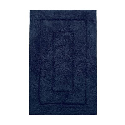 Kassadesign Bath Rugs Size: 24 H x 40 W, Color: Navy